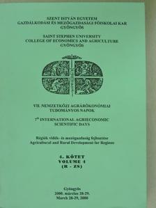 Békési Zoltán - VII. Nemzetközi Agrárökonómiai Tudományos Napok 4. [antikvár]