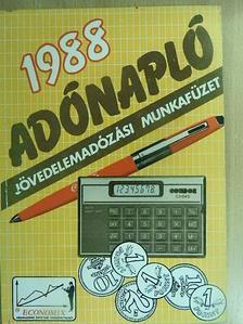 Dr. Farkas István - Adónapló 1988 [antikvár]