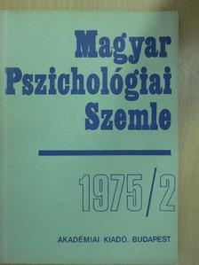 Bárdos Kató - Magyar Pszichológiai Szemle 1975/2. [antikvár]