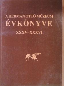 B. Perjés Judit - A Herman Ottó Múzeum Évkönyve XXXV-XXXVI. [antikvár]