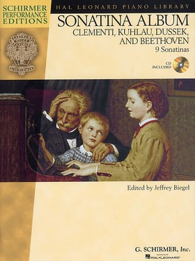 CLEMENTI, KUHLAU, DUSSEK, BEETHOVEN - SONATINA ALBUM  9 SONATINAS + CD (J. BIEGEL)