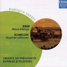 BIBER, SCHMELZER - MISSA ALLELUJA - VESPERAE SOLLENNES CD KONRAD JUNGHANEL