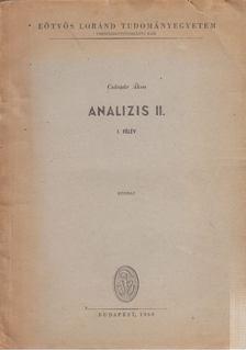Császár Ákos - Analízis II. I. félév [antikvár]