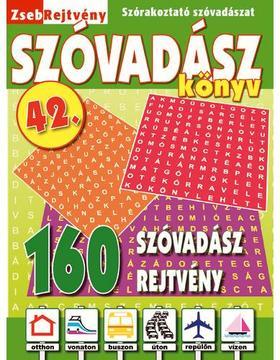 CSOSCH KIADÓ - ZsebRejtvény SZÓVADÁSZ Könyv 42.