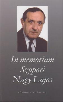 Román Károly - In memoriam Szopori Nagy Lajos [antikvár]