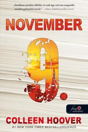Colleen Hoover - November 9.