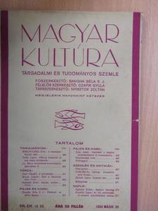 Bangha Béla S. J. - Magyar Kultúra 1934. május 20. [antikvár]
