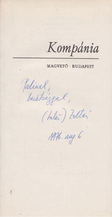 Iszlai Zoltán - Kompánia (dedikált) [antikvár]