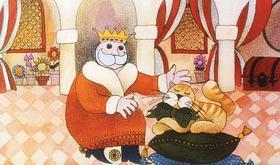 Petrolay Margit - A király macskája - Diafilm