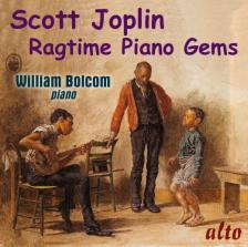 JOPLIN - RAGTIME PIANO GEMS CD WILLIAM BOLCOM