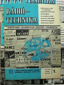 Lóska Péter - Rádiótechnika 1975. (nem teljes évfolyam) [antikvár]