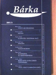 Babics Imre - Bárka 2001/3. [antikvár]