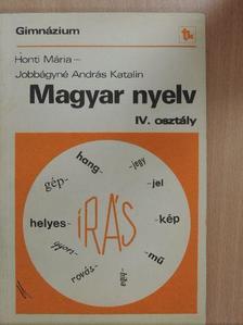 Ancsel Éva - Magyar nyelv IV. [antikvár]
