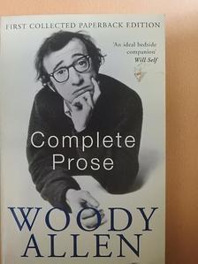Woody Allen - The complete prose of Woody Allen [antikvár]