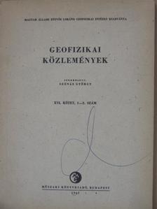 Ádám Antal - Geofizikai Közlemények 1967/1-2. [antikvár]