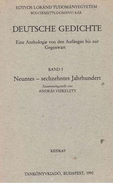 Vízkelety András - Deutsche Gedichte I. [antikvár]