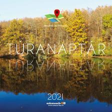 SmartCalendart - TÚRANAPTÁR térképpel 2021 - 30X30