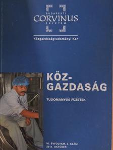 Andor György - Köz-gazdaság 2011. október [antikvár]