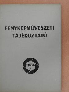 Lőrinczy György - Fényképművészeti tájékoztató 1965. I. [antikvár]