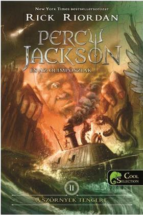 Rick Riordan - Percy Jackson és az olimposziak 2. - A szörnyek tengere (ÚJ!) - PUHA BORÍTÓS