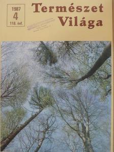 Bánhegyi György - Természet Világa 1987. április [antikvár]