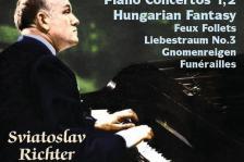 LISZT - PIANO CONCERTOS 1,2 - HUNGARIAN FANTASY CD SVIATOSLAV RICHTER