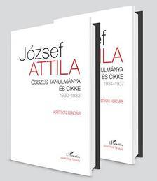 JÓZSEF ATTILA - Összes tanulmánya és cikke 1930-1937 I-II. kötet