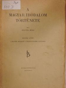 Pintér Jenő - A magyar irodalom története II. (töredék) [antikvár]