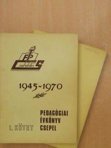 Dános Valérné - Pedagógiai évkönyv - Csepel I-II. [antikvár]