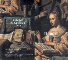 HAENDEL - ODE FOR ST CECILIA'SDAY CD DUNEDIN CONSORT