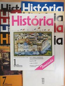 Ádám Magda - História 1992/1-10. + História plusz [antikvár]