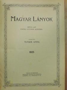 Altay Margit - Magyar Lányok 1925. január-december [antikvár]