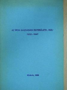 M. Pásztor József - Az Írók Gazdasági Egyesülete /IGE/ (dedikált példány) [antikvár]