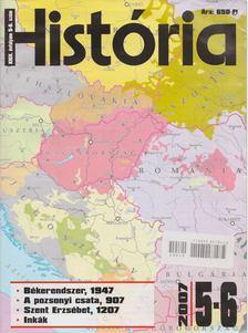 Glatz Ferenc - História 2007/5-6. [antikvár]