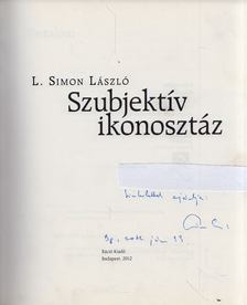 L. Simon László - Szubjektív ikonosztáz (dedikált) [antikvár]
