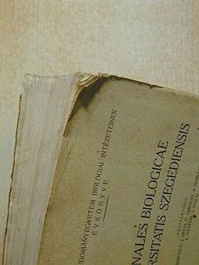 A. Ábrahám - Annales Biologicae Universitatis Szegediensis [antikvár]