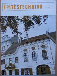 Császár László - Építéstechnika 1975/8. [antikvár]