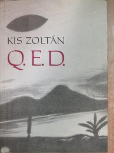Kis Zoltán - Q. E. D. [antikvár]