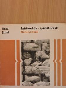 Finta József - Építőkockák-épületkockák [antikvár]