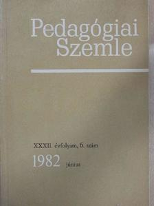 A. Lewin - Pedagógiai Szemle 1982. július-augusztus [antikvár]