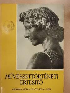 Balogh Jolán - Művészettörténeti Értesítő 1959/4. [antikvár]