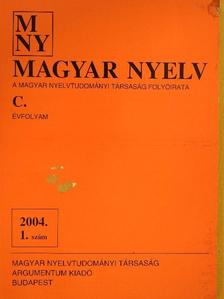 A. Molnár Ferenc - Magyar Nyelv 2004. március [antikvár]