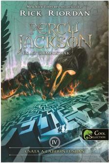 Rick Riordan - Percy Jackson és az olimposziak 4. - Csata a labirintusban (ÚJ!) - KEMÉNY BORÍTÓS
