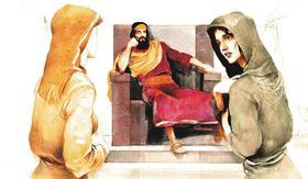 Bibliai történet nyomán - Salamon bölcsessége - Diafilm