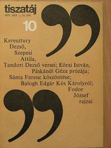 Balázs Mihály - Tiszatáj 1977. október [antikvár]