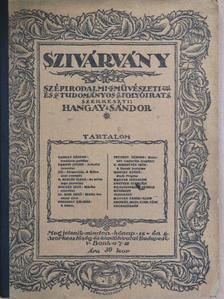 Dr. Kiss Ernő - Szivárvány 1921. november 15. [antikvár]