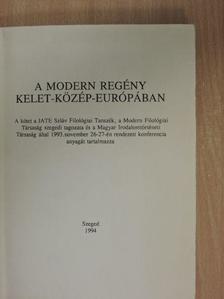 Bagi Ibolya - A modern regény Kelet-Közép-Európában [antikvár]