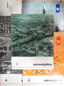 Dr. Körmendi Klára - Városépítés 1971/1-6. [antikvár]