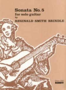 SMITH BRINDLE - DANZA PAGANA FOR SOLO GUITAR
