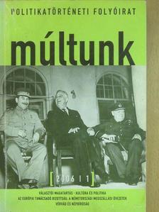 Boros Ferenc - Múltunk 2006/1. [antikvár]